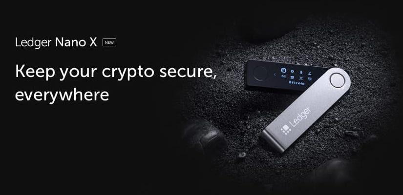 Ledger Nano X – Bluetooth портфейл за криптовалути