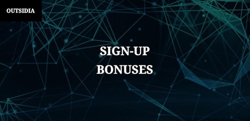 Бонуси при регистрация