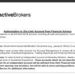 ibkr delink from karoll brokers